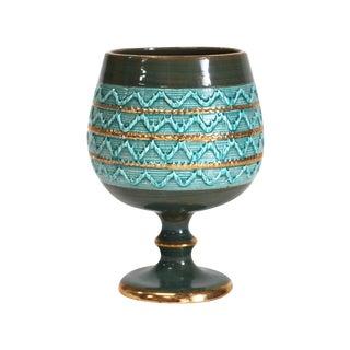 Mid-Century Italian Ceramic Pottery Vase