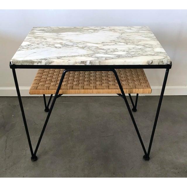Maurizio Tempestini for Salterini Marble-Top Side Table - Image 3 of 5