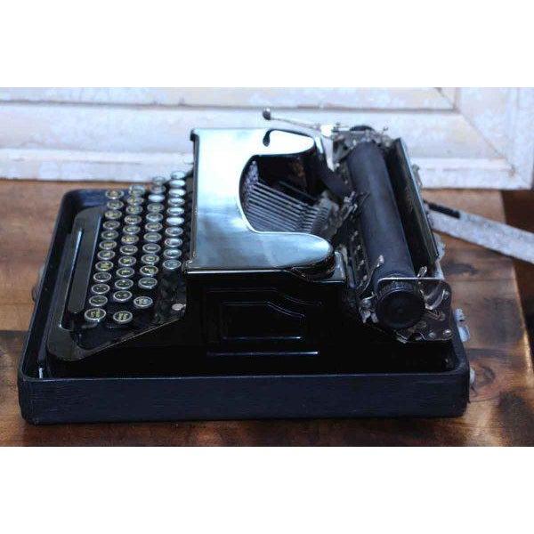 Antique Smith Corona Typewriter With Case - Image 4 of 6