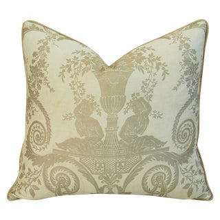 1950s Italian Mariano Fortuny Lamballe Pillow