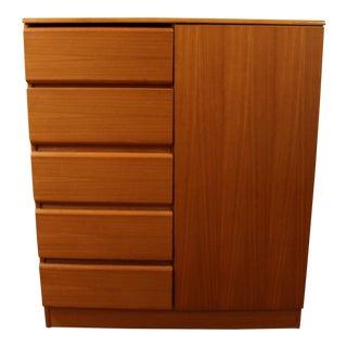 Mid-Century Danish Modern Teak Gentleman's Chest/Dresser