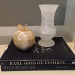 Image of Vintage Marble Vase & Apple