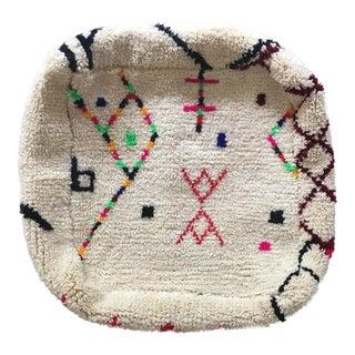 Moroccan Wool Ottoman Pouf