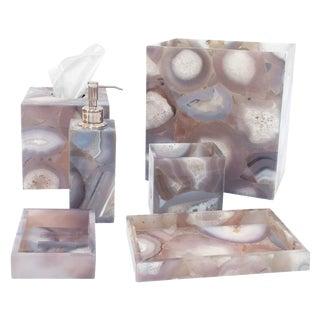 Natural Agate Soap Dispenser