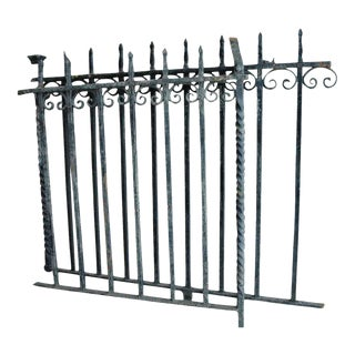 Wrought Iron Balcony - A Pair