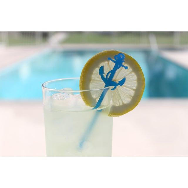 Blue Anchor Drink Stirrers - Set of 6 - Image 3 of 5