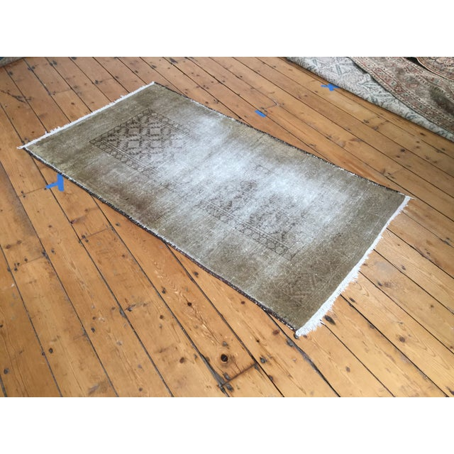 "Distressed Belouch Rug - 3'1"" x 5'6"" - Image 3 of 5"
