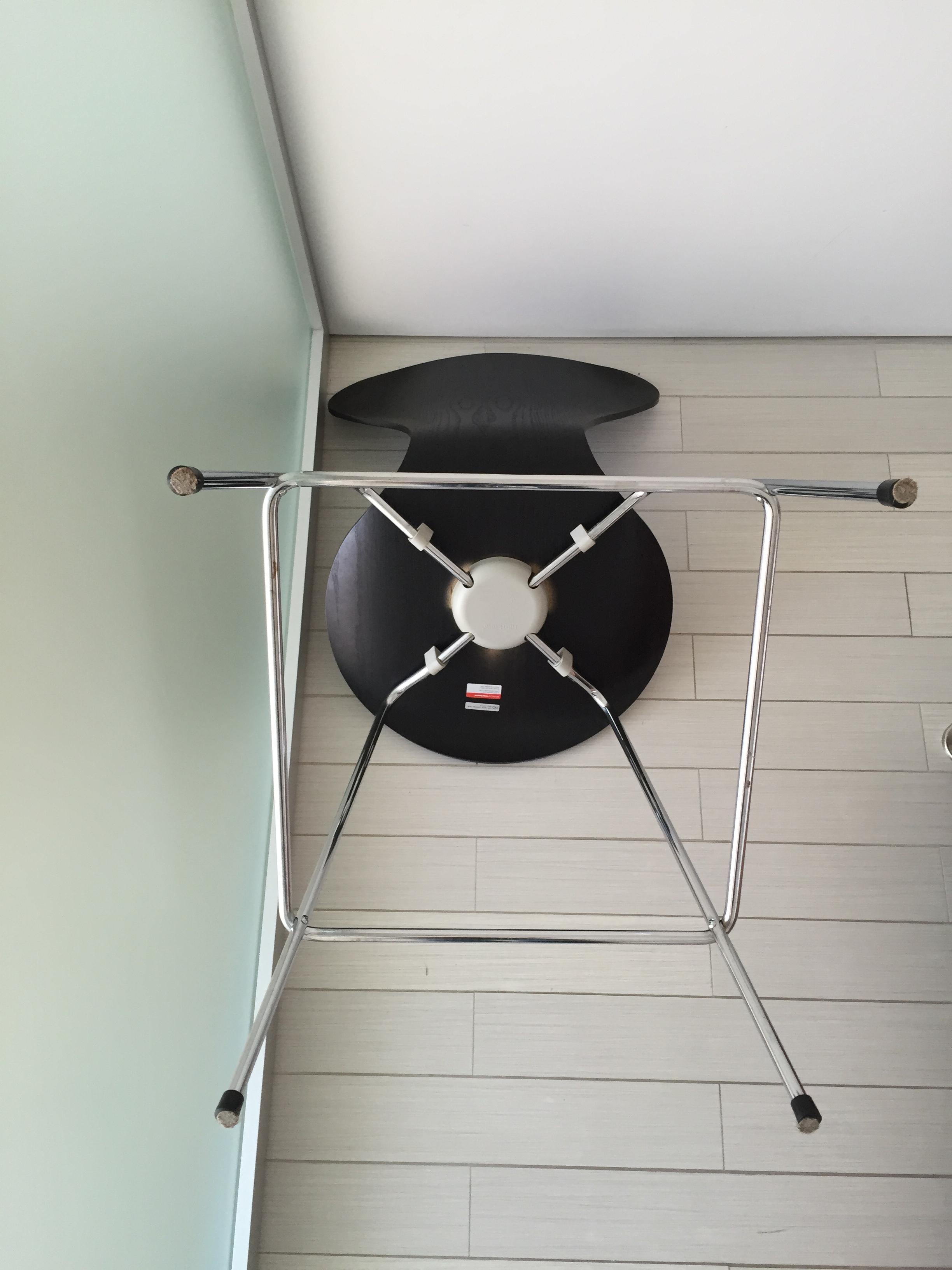Set Of 3 Arne Jacobsen Series 7 Counter Stool Chairish