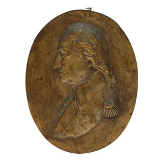 Bronze George Washington Plaque