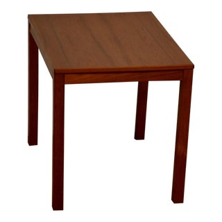 Teak End Table