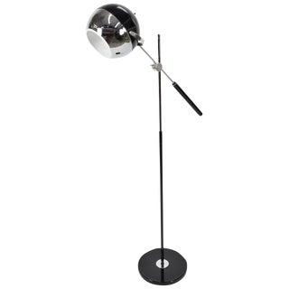 George Kovacs Attributed Adjustable Chrome Floor Lamp