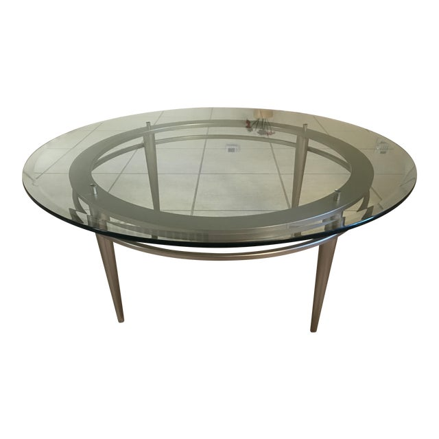 Ethan Allen Modern Coffee Table Chairish