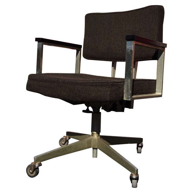 Mid-Century Desk Chair by Good Form Aluminum - Image 1 of 7