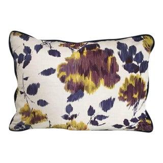 Kim Salmela Purple Floral Pillow