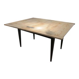 French Folding Top Dining Room Table