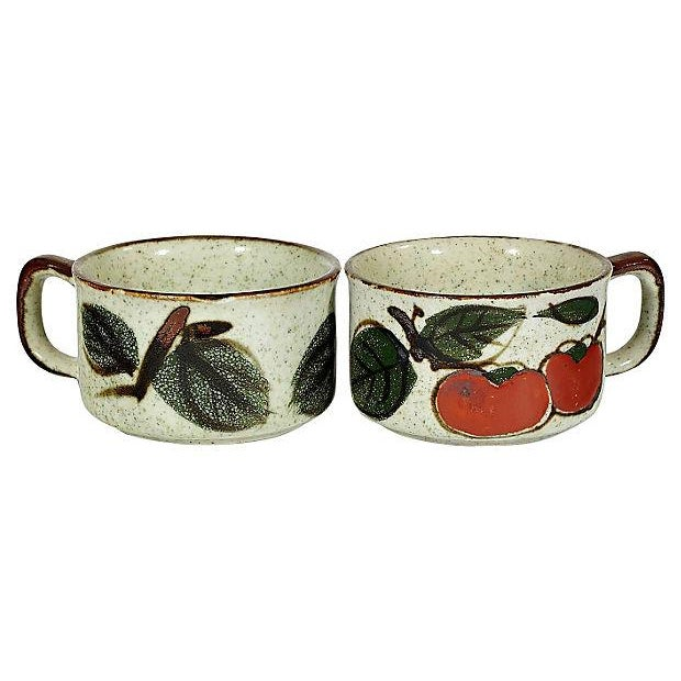 1970's Tomato Soup Bowls - Set of 6 - Image 3 of 3