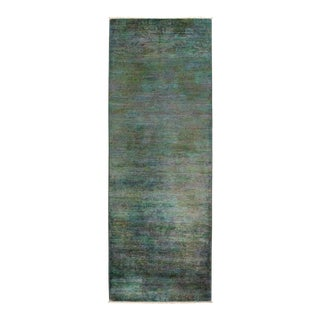 """Vibrance Hand Knotted Runner Rug - 3' 0"""" X 8' 4"""""""