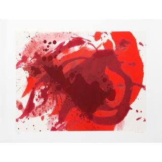"""""""Passionate Winner"""" Silkscreen by Kazuo Shiraga"""