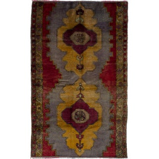 "Vintage Turkish Anadol Rug - 4'11"" x 8'0"""