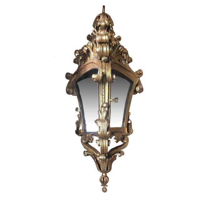 Ornate Brass Hanging Pendant - Image 2 of 3
