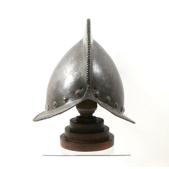 16th-C. Italian Morion Helmet - Image 3 of 6