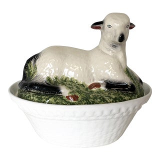 Lamb Soup Tureen Made in Portugal