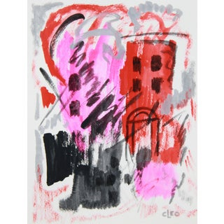 Abstract Cityscape Painting by Cleo