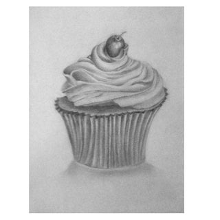 Art Print - Cupcake by Sylvia Roth