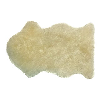 Vintage New Zealand Sheepskin Rug or Throw