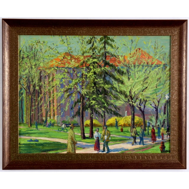 Afternoon In The Park, C. 1940 - Image 1 of 4