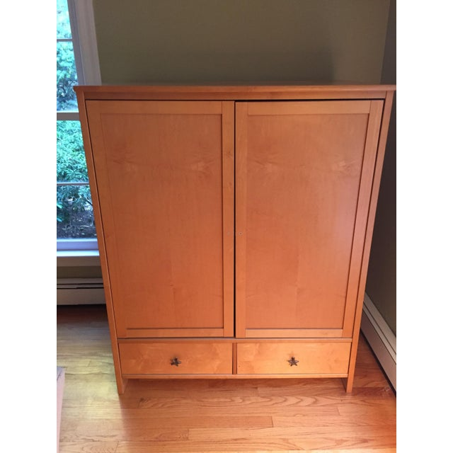 Image of Danish Modern Style Entertainment Cabinet