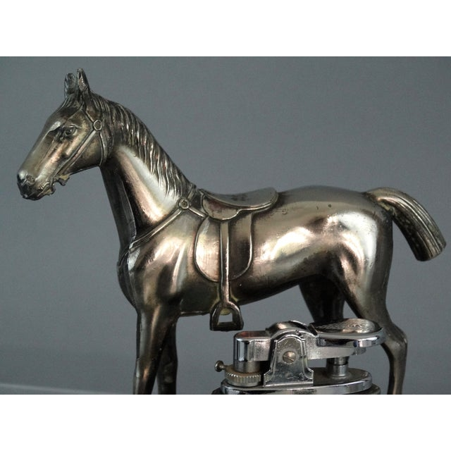 Equestrian Horse Table Lighter - Image 6 of 9