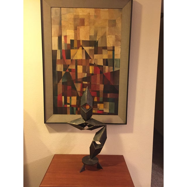 Mid-Century Modern Signed Sculpture - Image 3 of 11