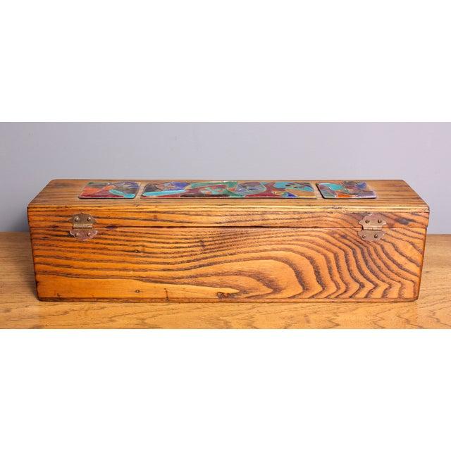 Image of Late 1940s Elizabeth Bensley Wooden Box