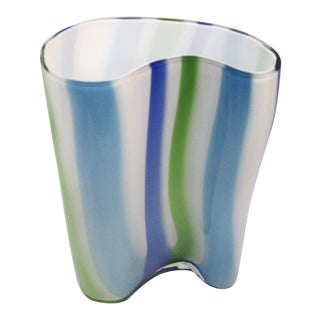 Mid-Century Modern Murano Glass Vase