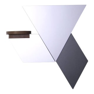 Wall Tile & Shelf Assembly - Set of 4