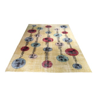 Bellwether Rugs Vintage Zeki Muren Turkish Rug- 6′6″ × 8′4″