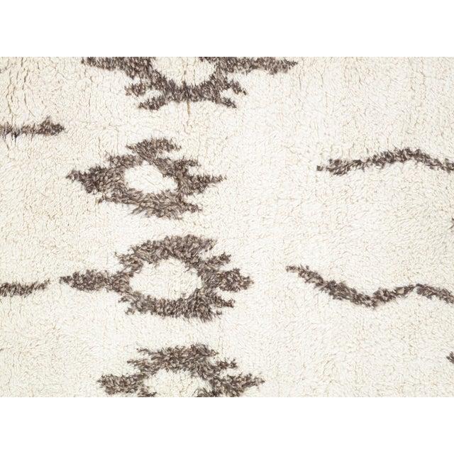 Pasargad Moroccan Lamb's Wool Rug - 9′3″ × 12′3″ - Image 2 of 4
