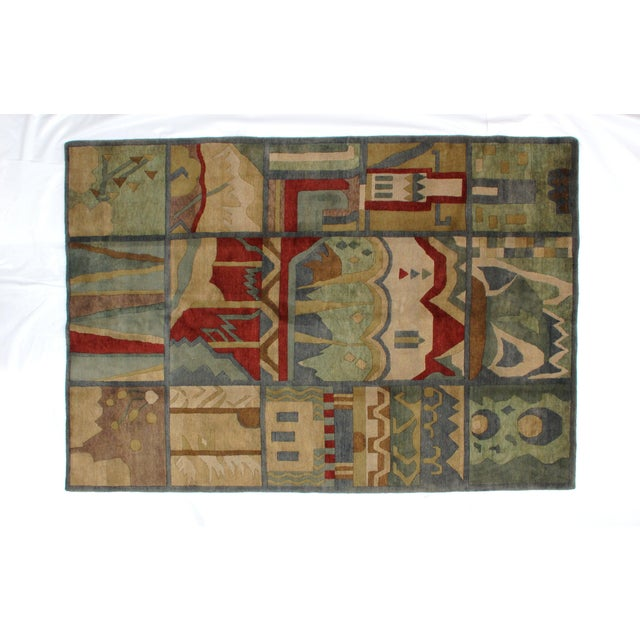 "Leon Banilivi Nepalese rug, 6' x 8'8"" - Image 2 of 5"