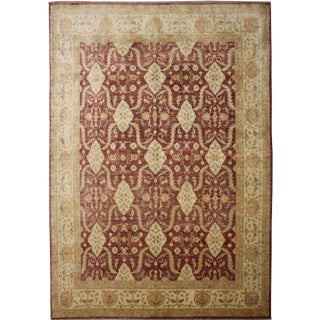 "Hand Knotted Rug by Aara Rugs Inc. - 11'0"" X 9'6"""