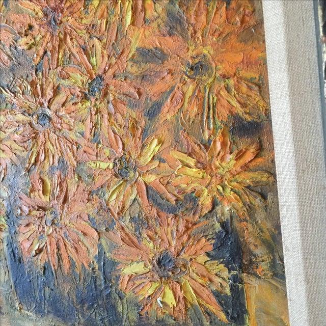 Vintage Framed Still Life Oil Painting - Image 7 of 9