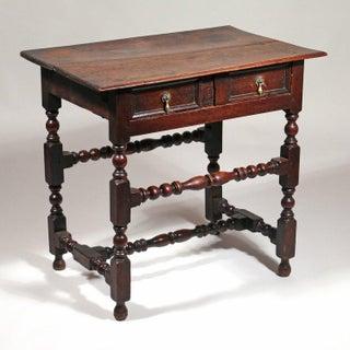 Late 17th-Century Oak Side Table