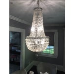 Image of 1900s Empire Crystal Chandelier