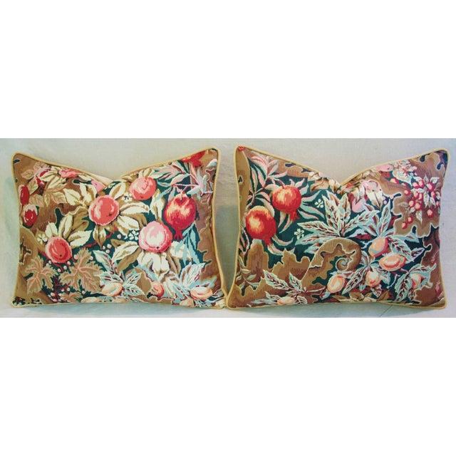 Designer Brunschwig & Fils Filoli Pillows - Pair - Image 9 of 11