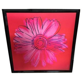 "Pop Art ""Daisy Artwork #3"" Print"