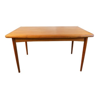 "Danish Modern Teak Dining Table - ""Marlene"""