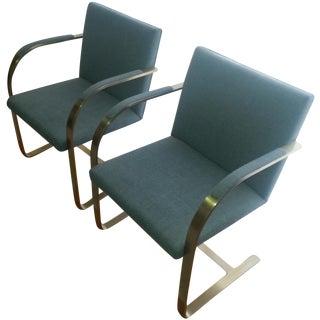 Mid-Century Modern Brno Chairs - A Pair