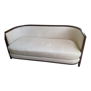 Modern Lexington Curved Neutral Sofa