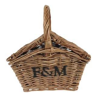 Small Fortnum & Mason Mini Hamper Basket