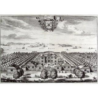 Antique 1699 Swedish Sandmare Estate Print